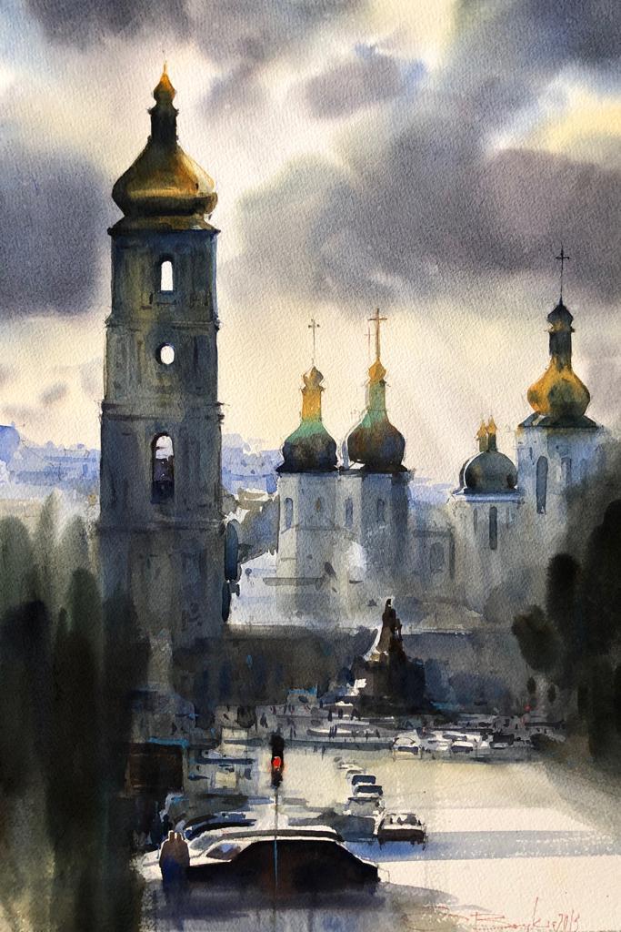 Kyiv, After Rain